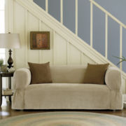 Maytex Microsuede 1-pc. Loveseat Slipcover