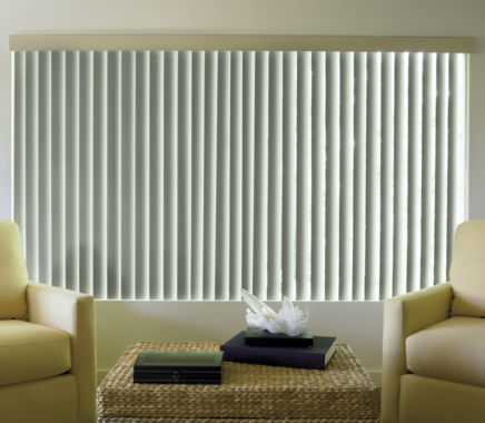 jcpenney.com | JCPenney Home™ Linen-Look Vinyl Vertical Blinds