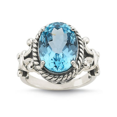 jcpenney.com | Genuine Sky Blue Topaz Sterling Silver Ring