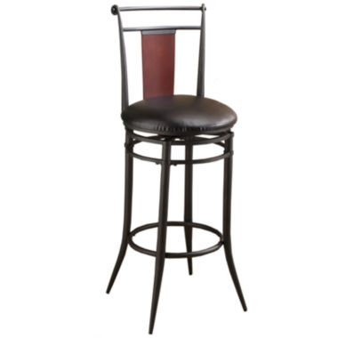 jcpenney.com | Midtown Swivel Barstool with Back