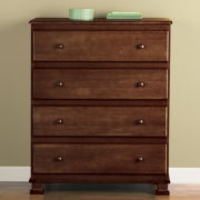 DaVinci Parker 4-Drawer Dresser - Coffee