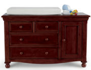 Monterey Changing Table - Chocolate Mist
