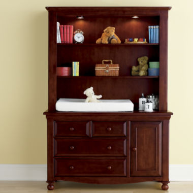 jcpenney.com | Bedford Baby Monterey Changing Table or Hutch - Cherry