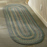 Capel American Traditions Braided Wool Oval Runner Rugs