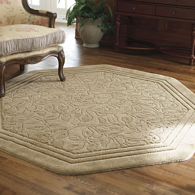 Jcpenney home wexford washable octagonal rug for Above all salon wexford