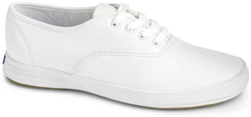 jcpenney.com | Keds® Champion Leather Lace-Up Sneakers