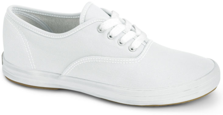 keds champion lace white