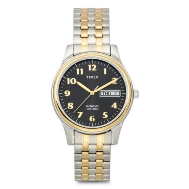 jcpenney.com | Timex® Mens Two-Tone Expansion Band Watch