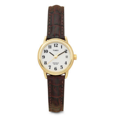 jcpenney.com | Timex® Womens Leather Croco Strap Watch