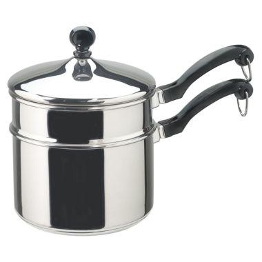 jcpenney.com | Farberware® Classic 2-qt. Stainless Steel Saucepan + Double Boiler
