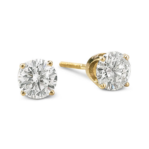 Round Diamond Studs 1 CT. T.W.