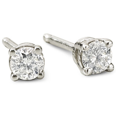 jcpenney.com | 1/5 CT. T.W. 14K Gold Round Diamond Studs