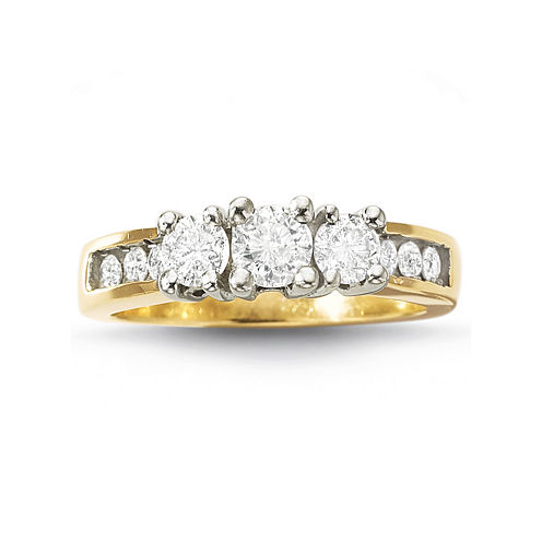 Love Lives Forever™ Diamond 3-Stone Ring