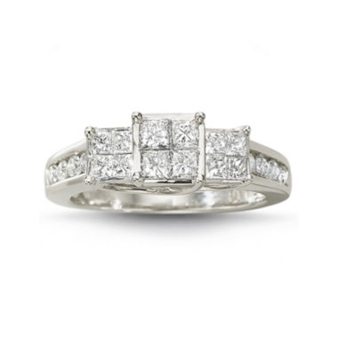 jcpenney.com | 1 CT. T.W. Diamond Ring 10K White Gold