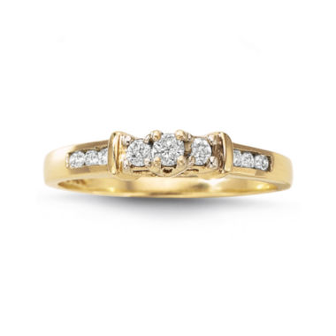 jcpenney.com | Love Lives Forever™ 1/4 CT. T.W. Diamond 3-Stone Ring