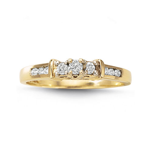 Love Lives Forever™ 1/4 CT. T.W. Diamond 3-Stone Ring