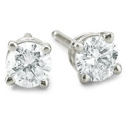 1/3 CT. T.W. Round Diamond Studs 14K Gold