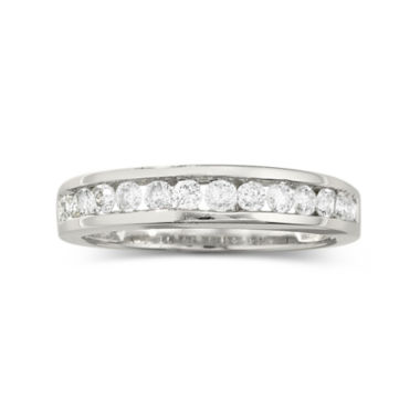 jcpenney.com | 1/2 CT. T.W. Diamond Band 10K White Gold