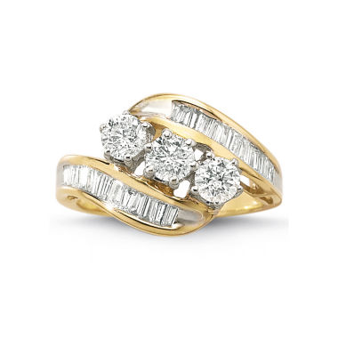 jcpenney.com | Love Lives Forever™ 1½ CT. T.W. Diamond 10K Gold 3-Stone Ring