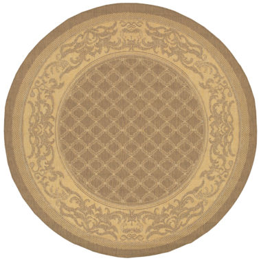 jcpenney.com | Couristan® Garden Lattice Indoor/Outdoor Round Rug