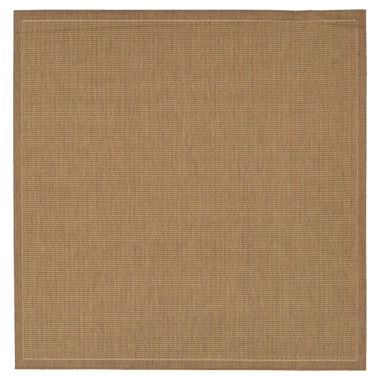 jcpenney.com | Couristan® Saddle Stitch Indoor/Outdoor Square Rug