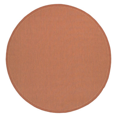 jcpenney.com | Couristan® Saddle Stitch Indoor/Outdoor Round Rug