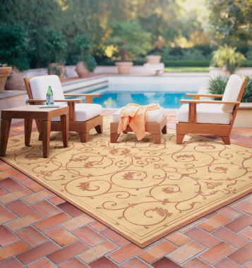 jcpenney.com | Couristan® Veranda Indoor/Outdoor Rectangular Rug