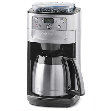 Coffee Maker Jcpenney : Cuisinart Burr Grind & Brew Thermal 12-Cup Automatic Coffee Maker DGB-900BCJCP - JCPenney