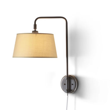 jcpenney.com | JCPenney Home™ Adjustable Bridge Wall Lamp