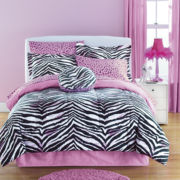 JCPenney Home™ Zebra Complete Bedding Set with Sheets Collection