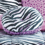JCPenney Home™ Zebra Round Decorative Pillow