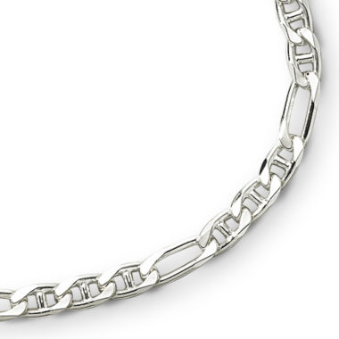 "jcpenney.com | Made in Italy Sterling Silver 22"" Figarucci Chain"