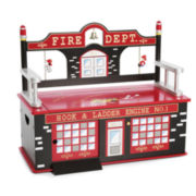 Levels of Discovery Firefighter Bench w/ Storage