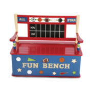 Levels of Discovery All Star Sports Bench w/ Storage