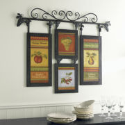 Hanging Vintage Fruit Wall Art