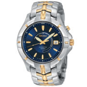 Seiko® Mens Two-Tone Kinetic Watch