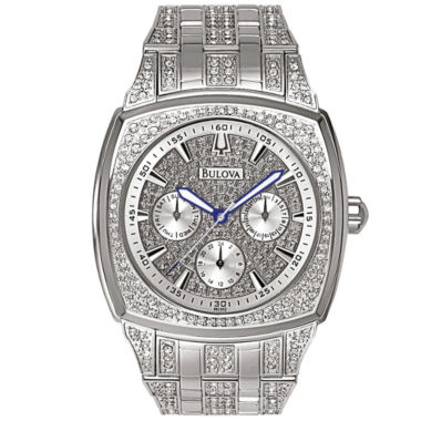 jcpenney.com | Bulova® Mens Crystal-Accent Watch