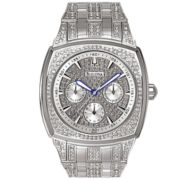 Bulova® Mens Crystal-Accent Watch