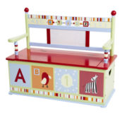 Levels of Discovery® Alphabet Soup Bench Seat w/ Storage