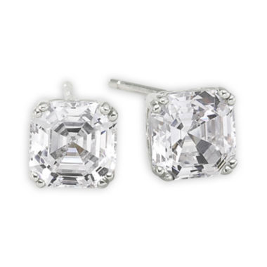 jcpenney.com | DiamonArt® 3 CT. T.W. Cubic Zirconia Earrings
