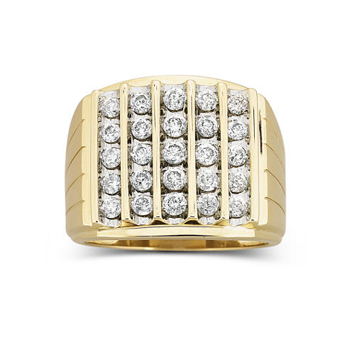 mens diamond ring 1 12 ct - Jcpenney Mens Wedding Rings