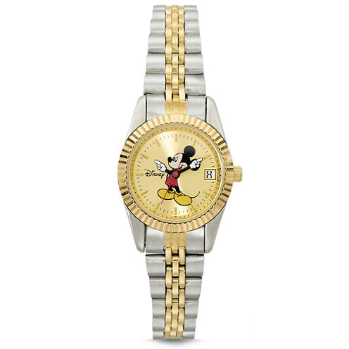 Disney Womens Mickey Mouse Bracelet Watch