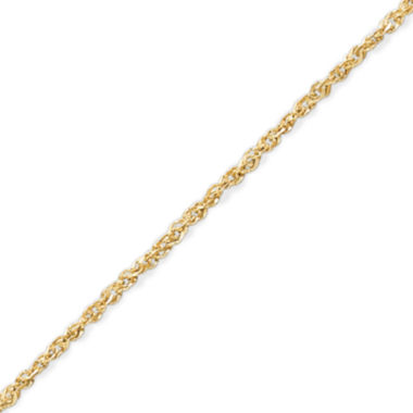 "jcpenney.com | Made in Italy 14K Gold 1.1mm 18-20"""" Perfectina Chain Necklace"