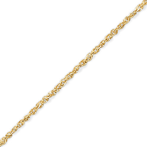 "Made in Italy 14K Gold 1.1mm 18-20"""" Perfectina Chain Necklace"