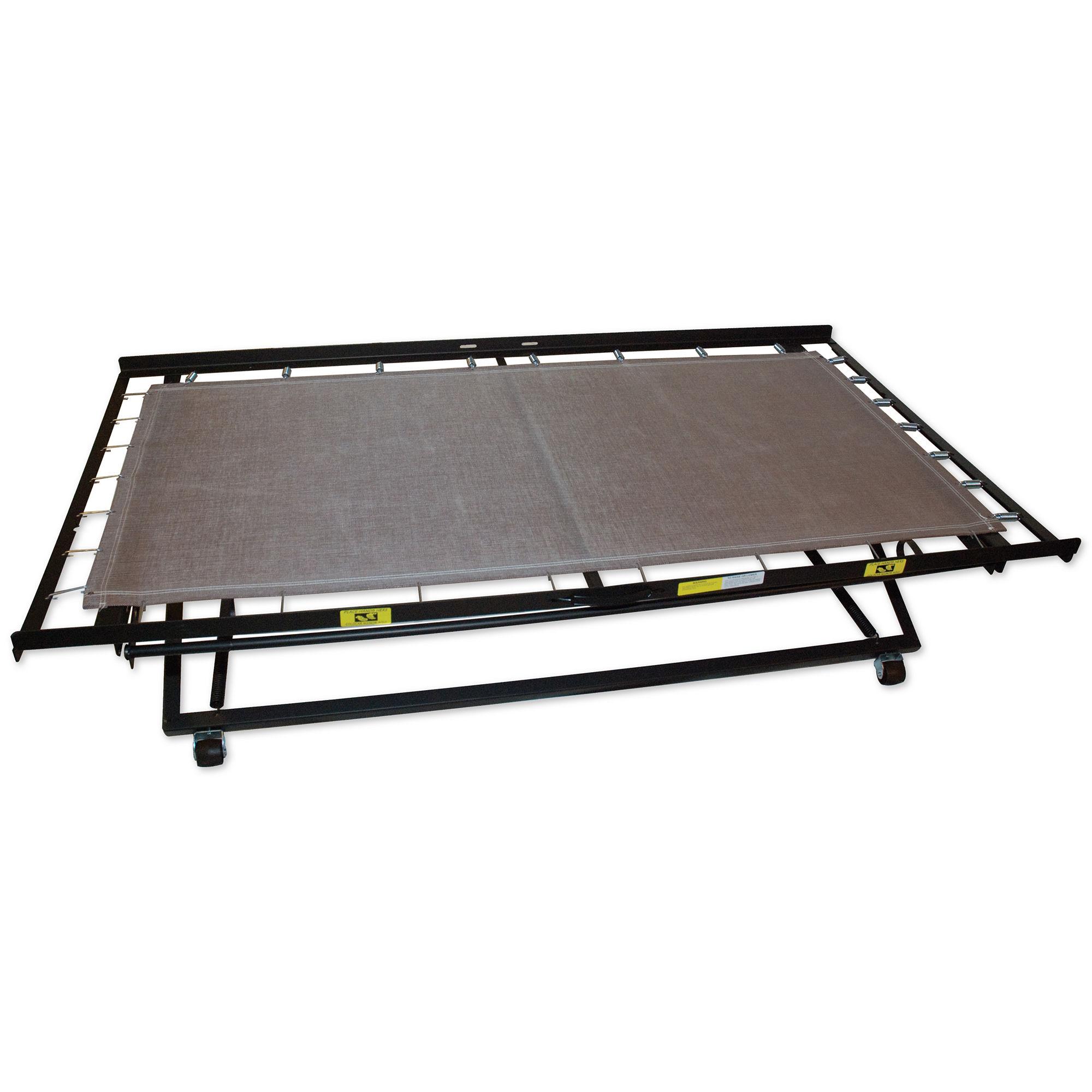 33 39 39 steel high riser day bed frame pop up trundle Bedroom furniture high riser bed frame