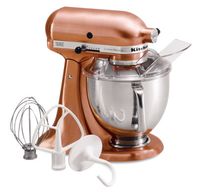 Kitchenaid custom metallic series 5 quart tilt head for Kitchenaid f series