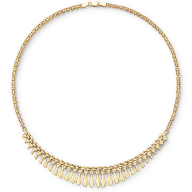 jcpenney.com | 14K Gold Over Silver Cleopatra Necklace