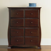Savanna 4-Drawer Chest - Espresso
