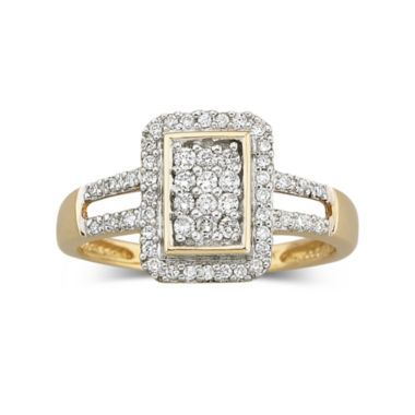 jcpenney.com | Diamond Ring 1/3 CT. T.W. 10K Gold