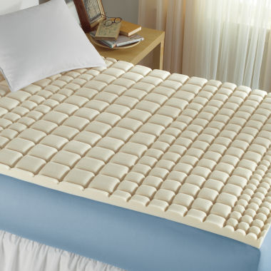 jcpenney.com | Isotonic® Structure Memory Foam Mattress Topper